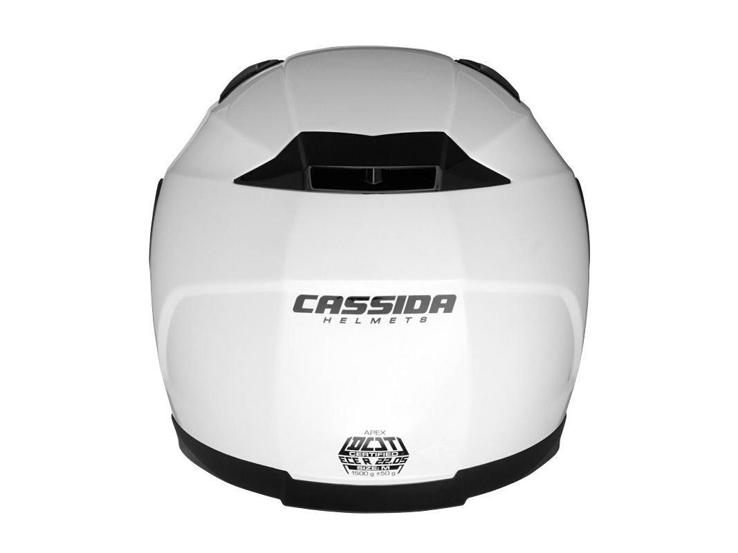 Integrálna prilba Cassida Apex - základná biela