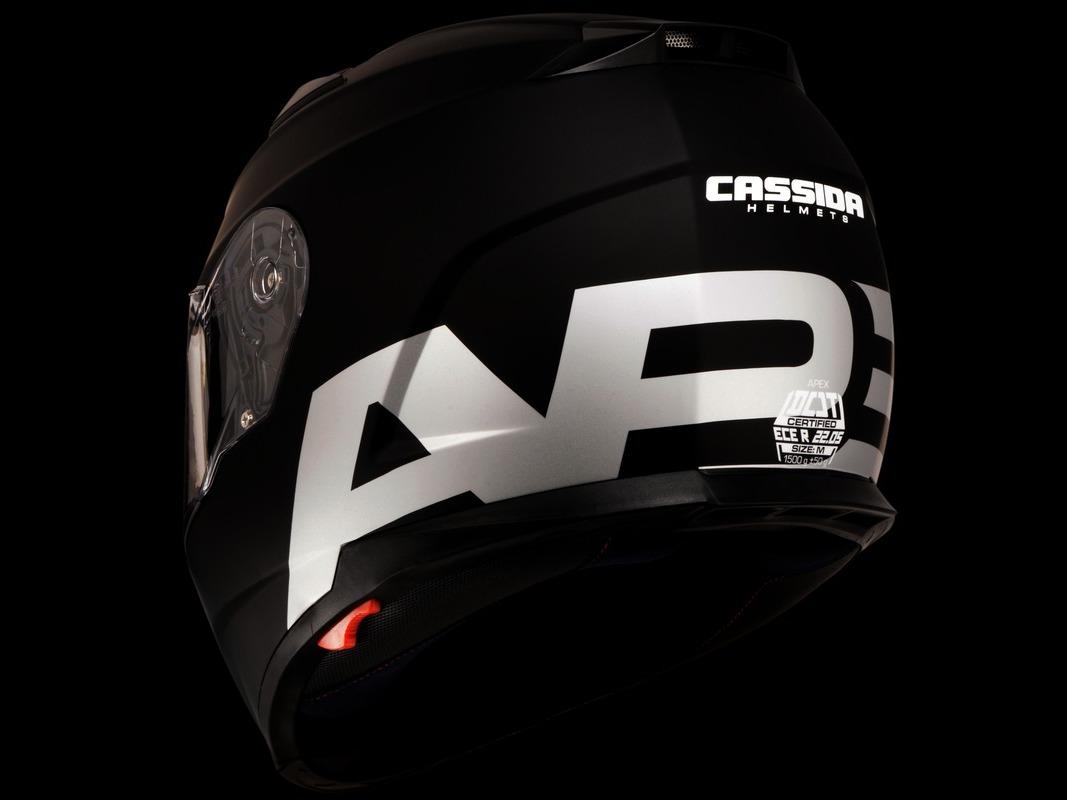 Integrálna prilba Cassida Apex Vision - reflexná