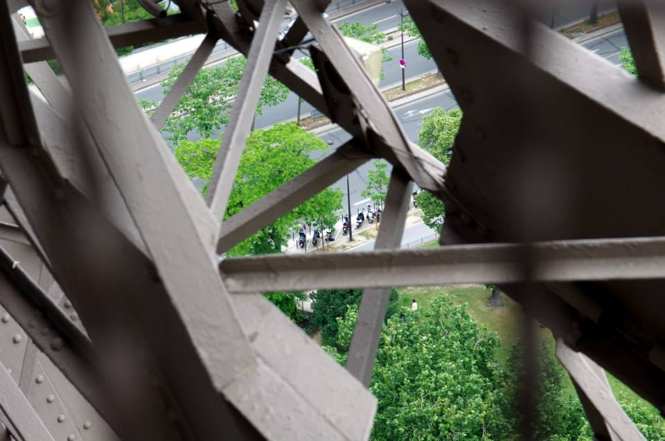 Eiffelova veža - motorku zaparkuješ priamo pod ňou, Francúzsko - Bod záujmu