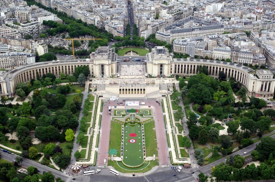 Eiffelova veža - výhľad, Francúzsko - Bod záujmu