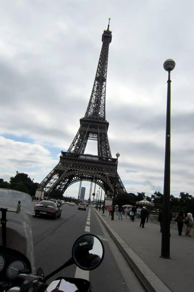 Eiffelova veža na motorke, Francúzsko - Bod záujmu