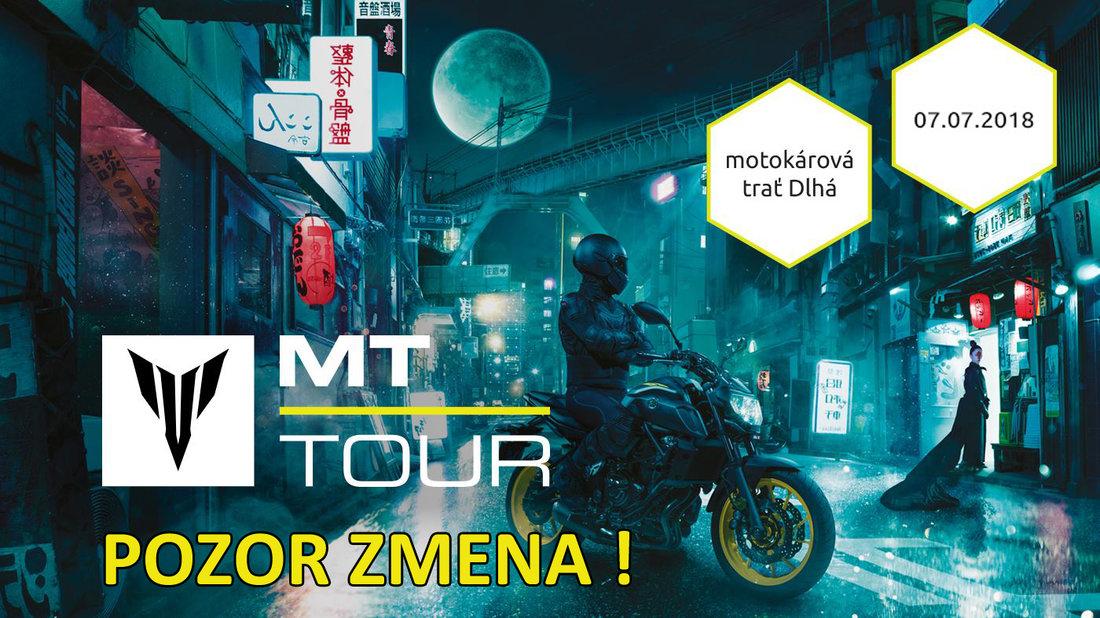 Yamaha MT-Tour 2018 prichádza! Objavte Vašu temnú stránku