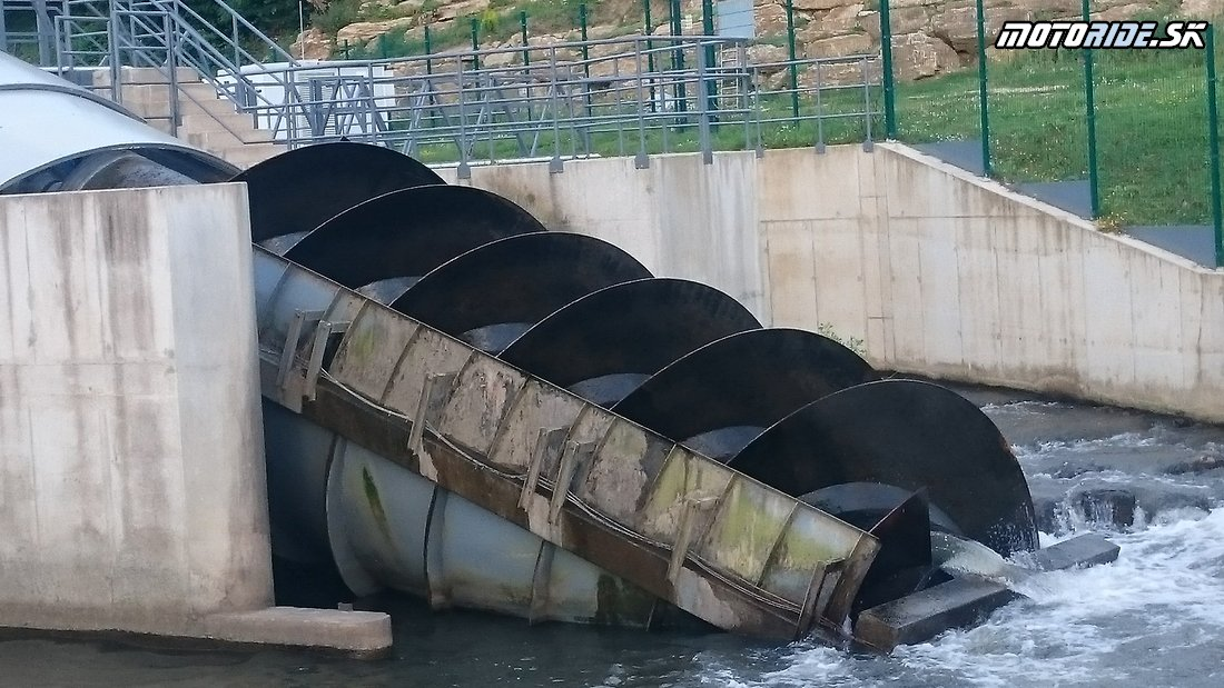 MVE Čoltovo - šneková turbína  - Bod záujmu