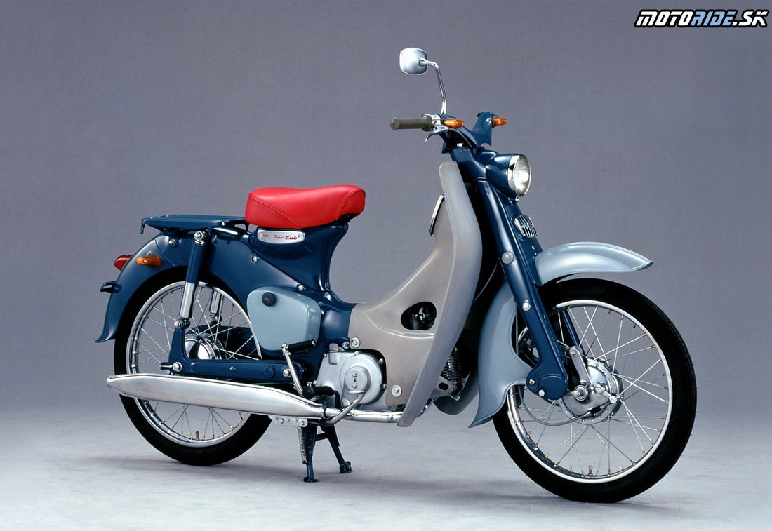 Pôvodný model Honda Super Cub