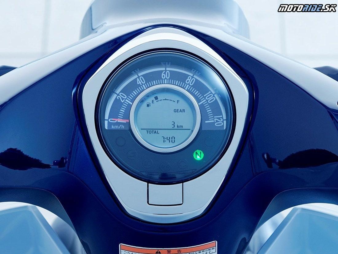 Honda Super Cub C125 2019 - prístrojový panel