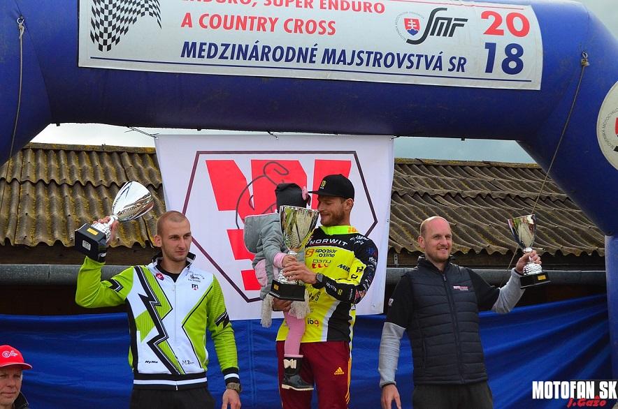Medzinárodné majstrovstvá SR Enduro Polomka 2018