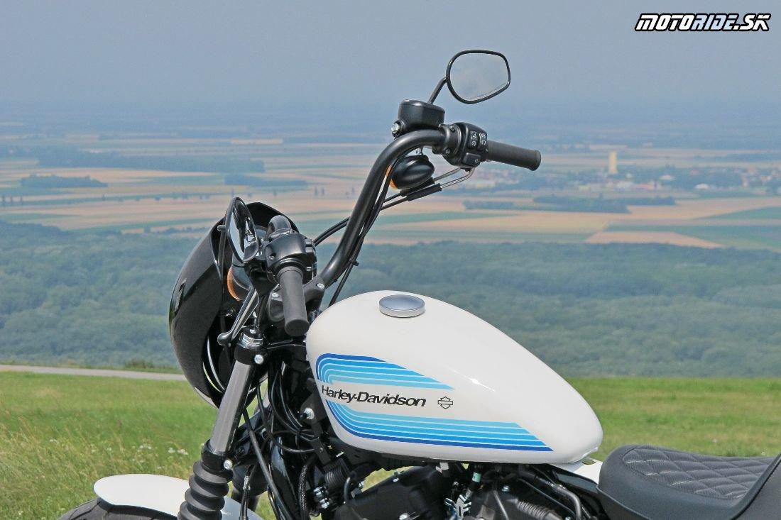 Harley-Davidson Sportster XL 1200NS Iron 2018