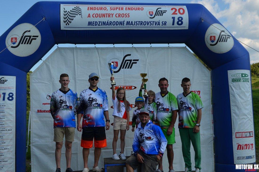 Medzinárodné majstrovstvá SR Enduro Lovčica 2018