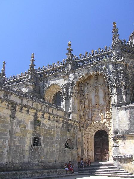 Tomar - Convento de Cristo, Portugalsko