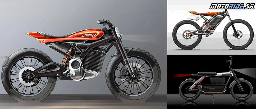 Pripravované elektrické modely Harley-Davidson