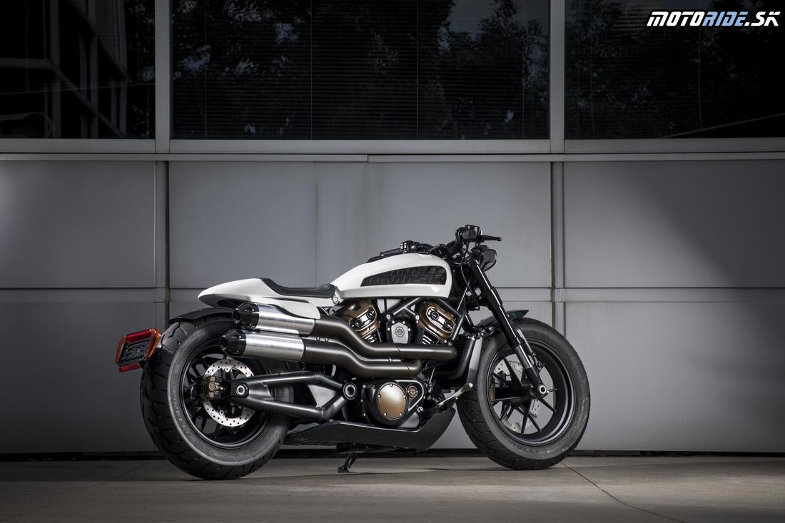 Harley-Davidson Custom 1250 cm3 - plánovaný na rok 2021