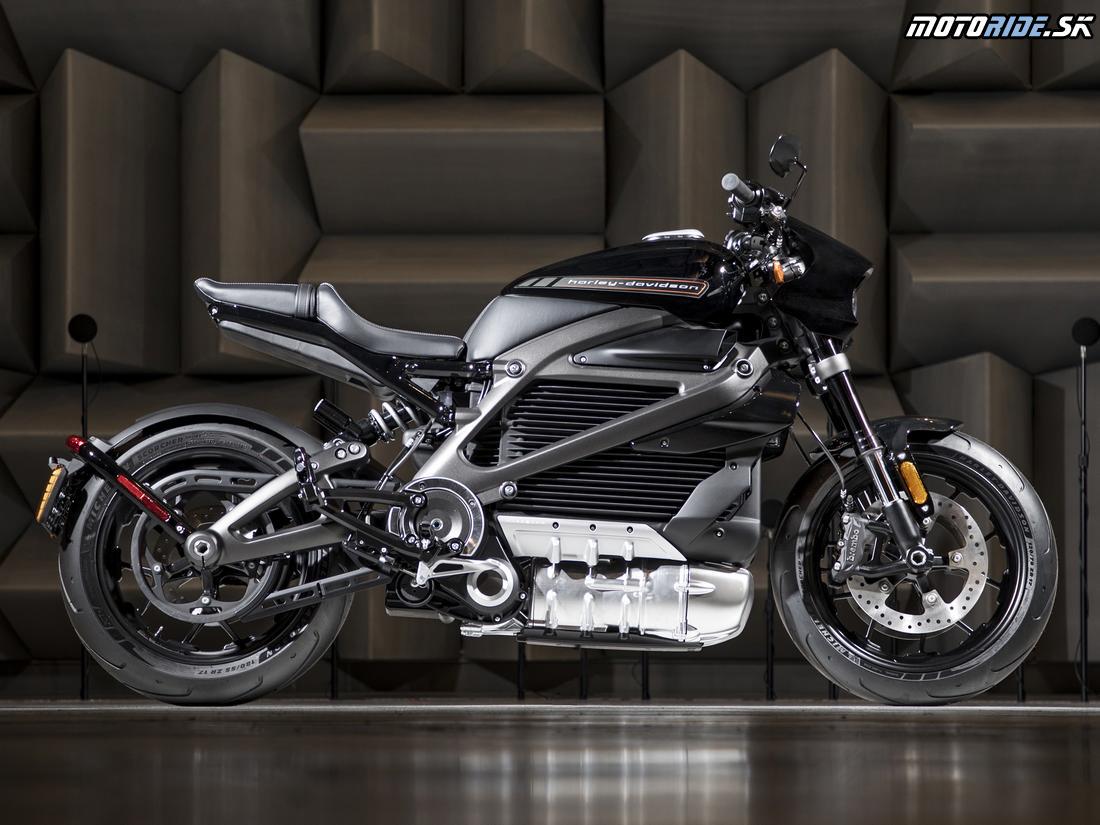 Harley-Davidson LiveWire™ - Elektrický motocykel plánovaný na rok 2019