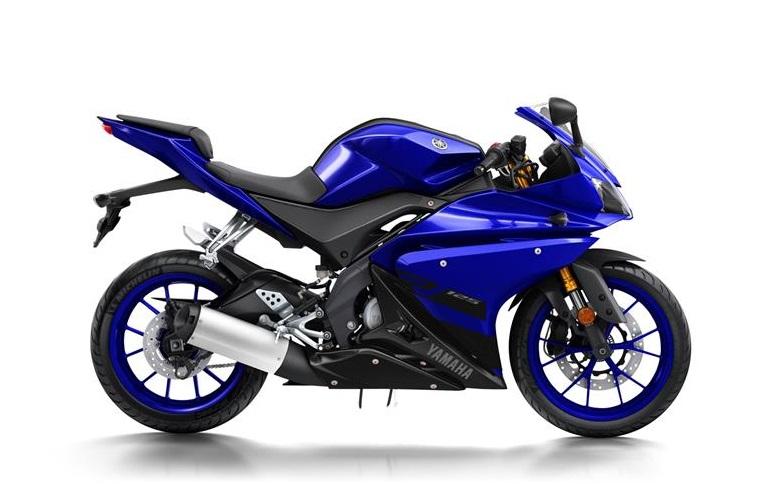 Yamaha YFZ R125 – športový motocykel dizajnovo odvodený od strojov motoGP. Značke a kvalite však zodpovedá aj cena (Foto: www.yamaha-motor.eu)