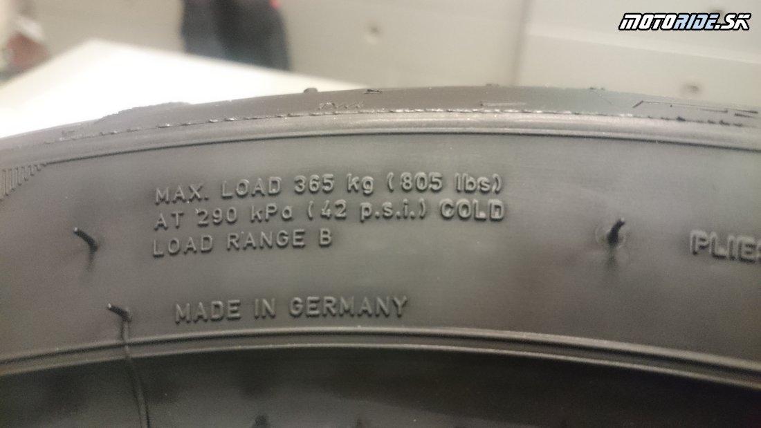 Maximálne zaťaženie - Označovanie moto pneumatík - význam, rozmery, indexy nosnosti, rýchlosti