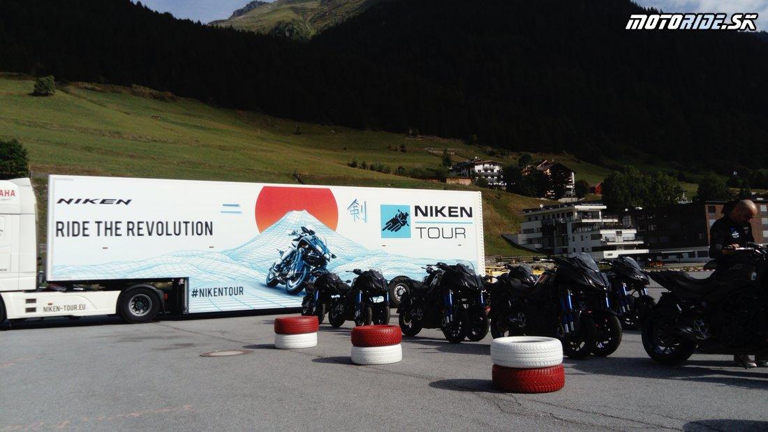 Zákruty v troch stopách - Testujeme trojkolku Yamaha Niken - pýtajte sa čo vás zaujíma