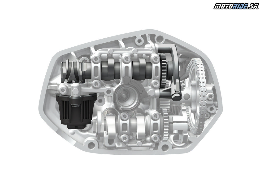 BMW R 1250 ShiftCam motor pre GS a RT 2019