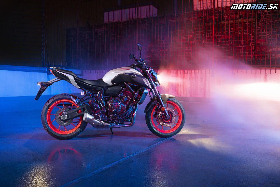 Yamaha MT07 2019