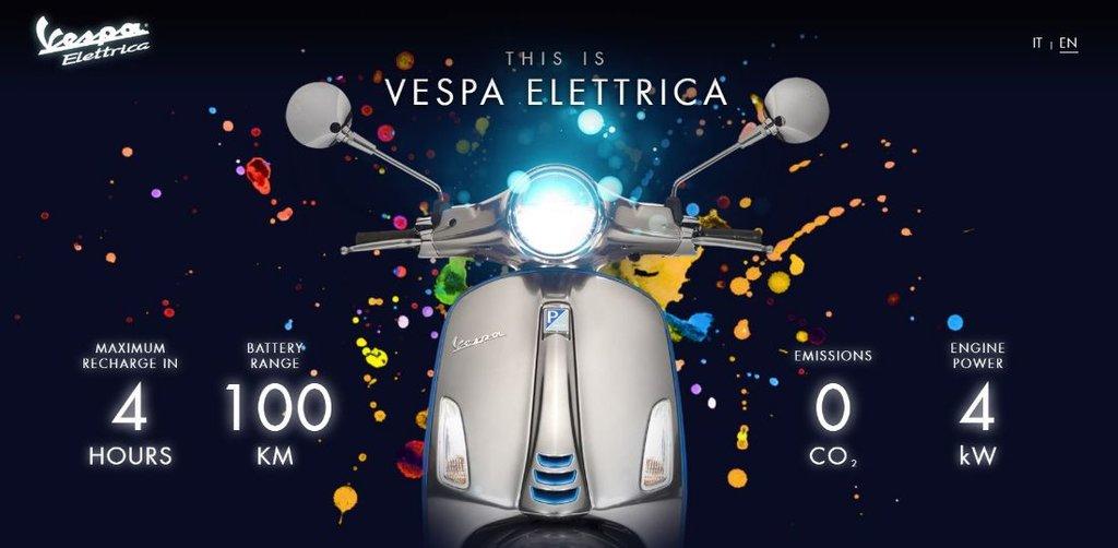 Vespa Elettrica 2019