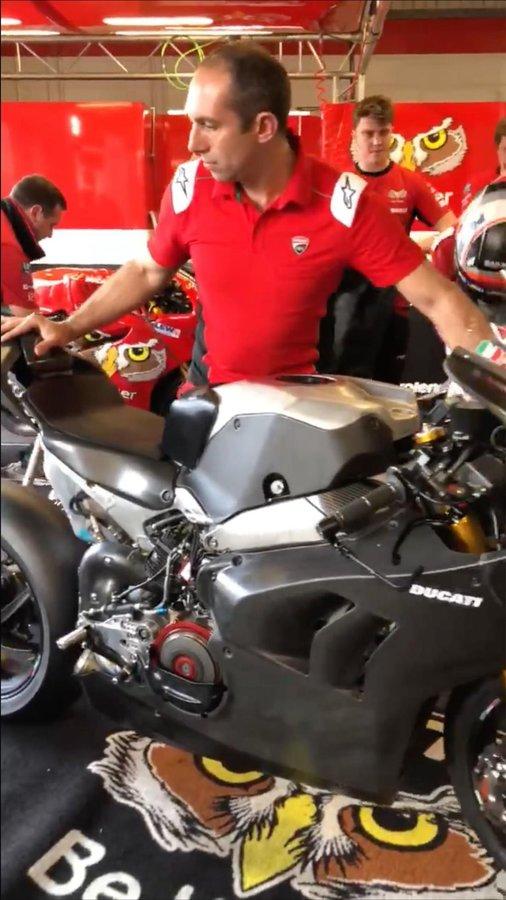 Erková verzia Ducati Panigale V4 po prvý raz na verejnosti