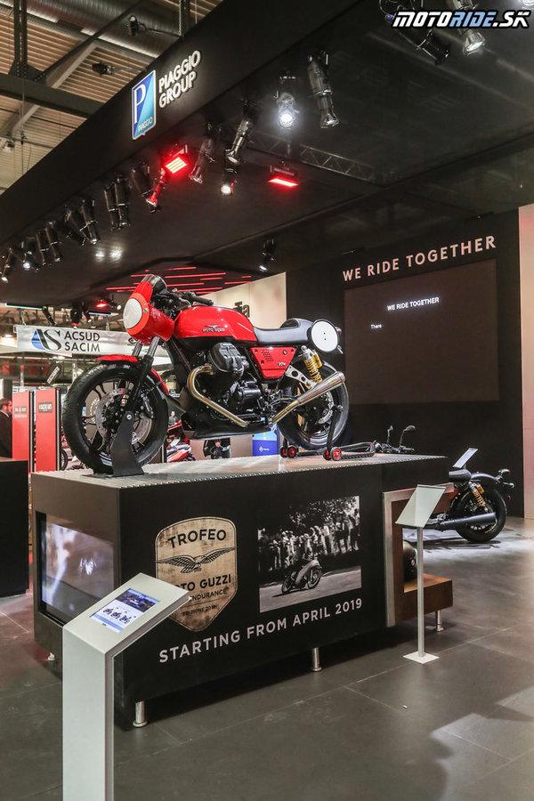 Moto Guzzi Fast Endurance 2019