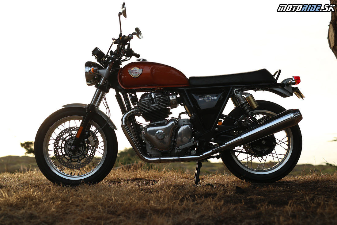 Royal Enfield Interceptor a Continental GT 650 2019