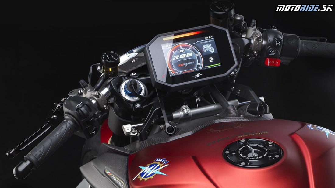TFT prístrojovka - MV Agusta Brutale 1000 Serie Oro 2019