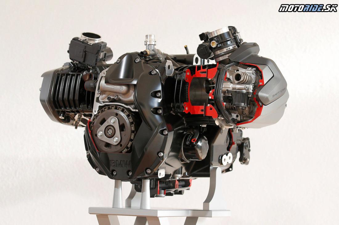 BMW R1250 ShiftCam motor 2019