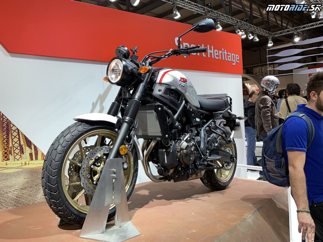 Yamaha XSR 700 XTribute 2019 - EICMA 2018