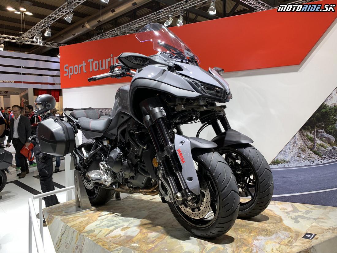 Yamaha Niken GT 2019 - EICMA 2018