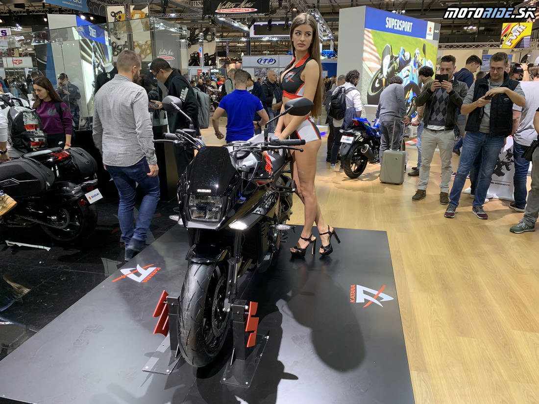 Suzuki  Katana 2019 - EICMA 2018