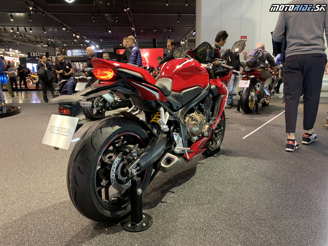 Honda CBR650R 2019 - EICMA 2018