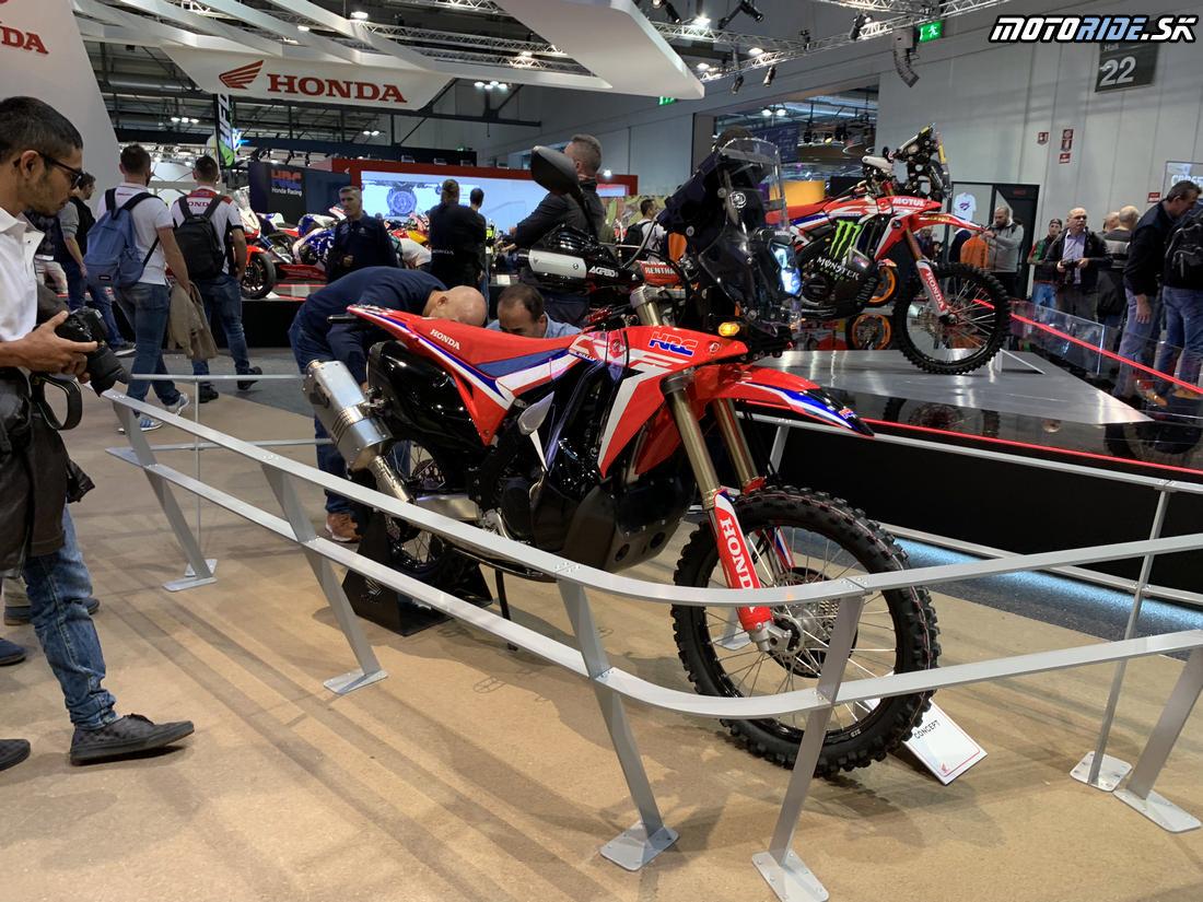 Honda CRF450 Rally - EICMA 2018