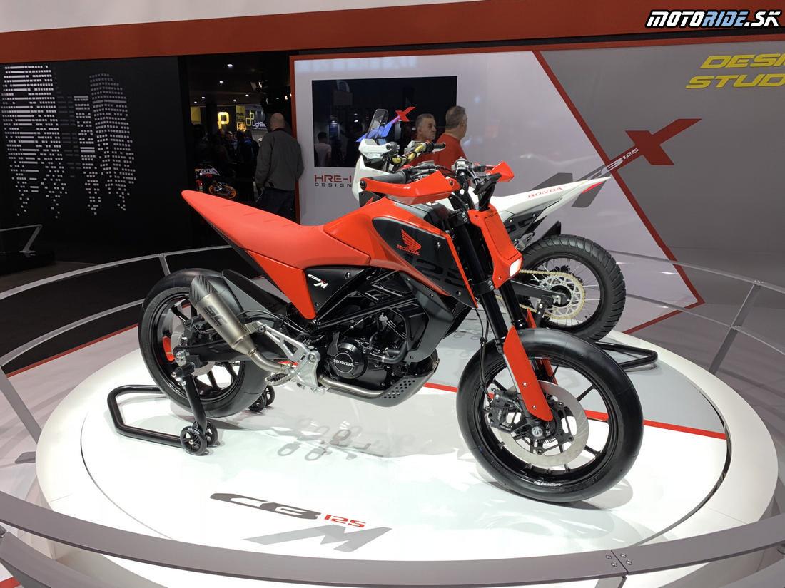 Honda CB125M a CB125X koncepty - EICMA 2018