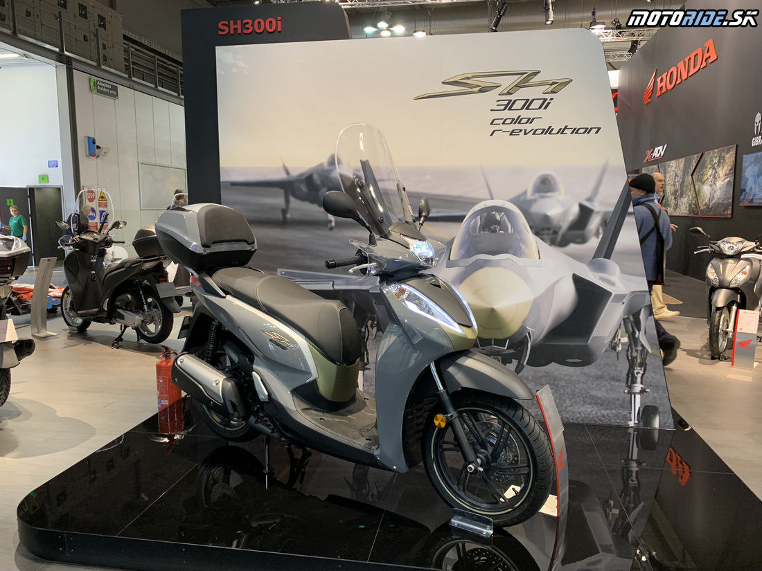 Honda SH300 2019 - EICMA 2018