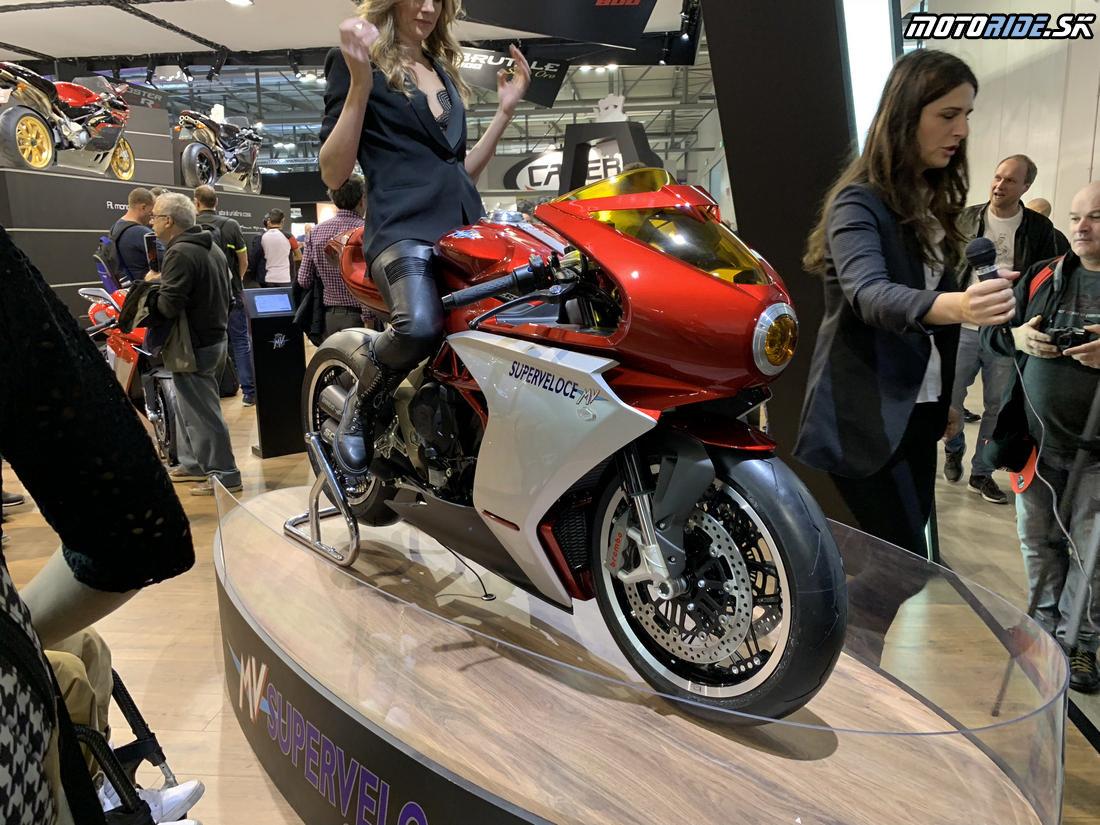 MV Agusta Superveloce 800 koncept - EICMA 2018