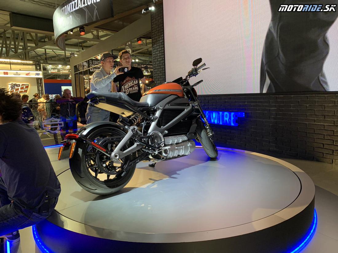 Harley-Davidson Livewire 2019 - EICMA 2018