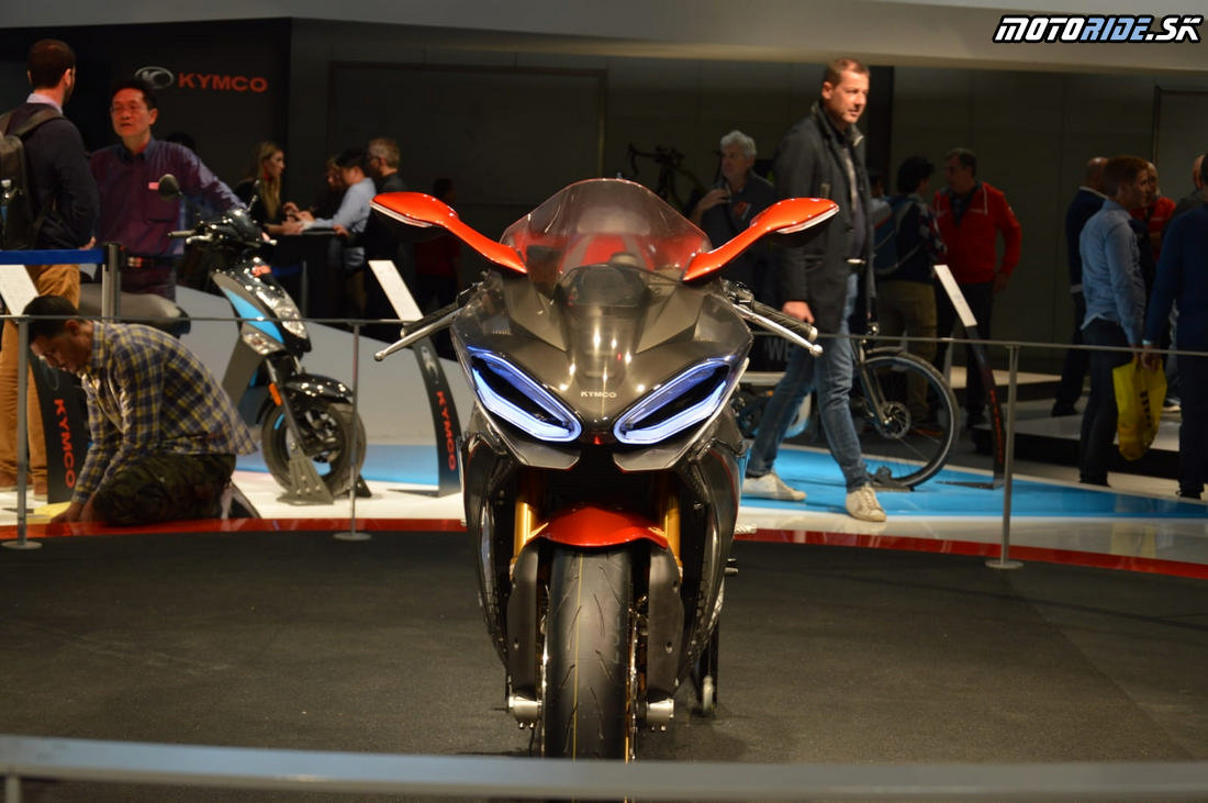 Kymco SuperNEX - koncept elektro superbiku - EICMA 2018