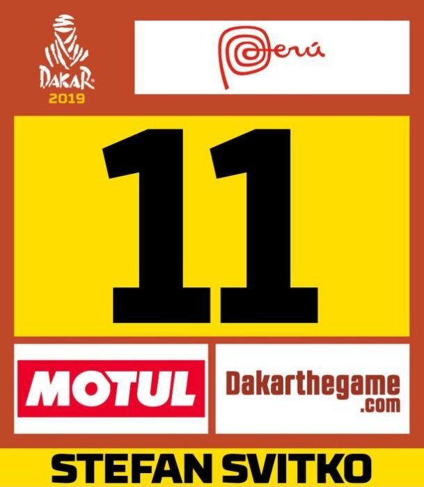 Štefan Svitko bude mať číslo 11 - Dakar 2019 – Peru a ešte raz Peru