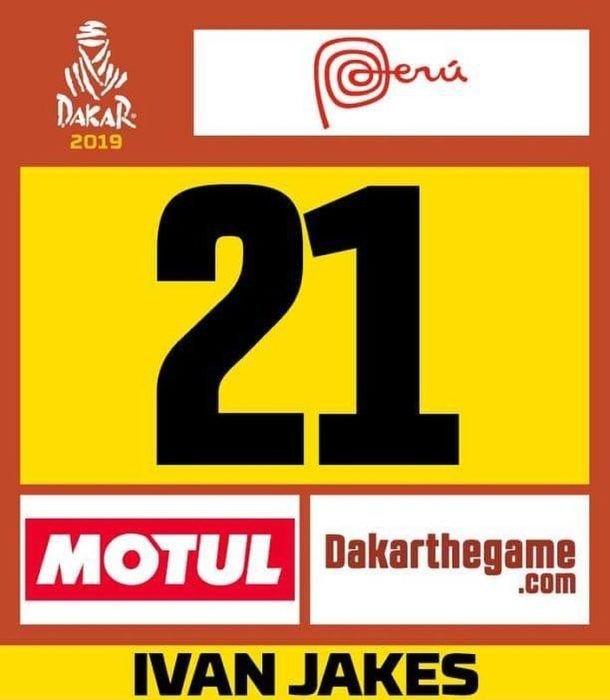 Ivan Jakeš bude mať číslo 21 - Dakar 2019 – Peru a ešte raz Peru