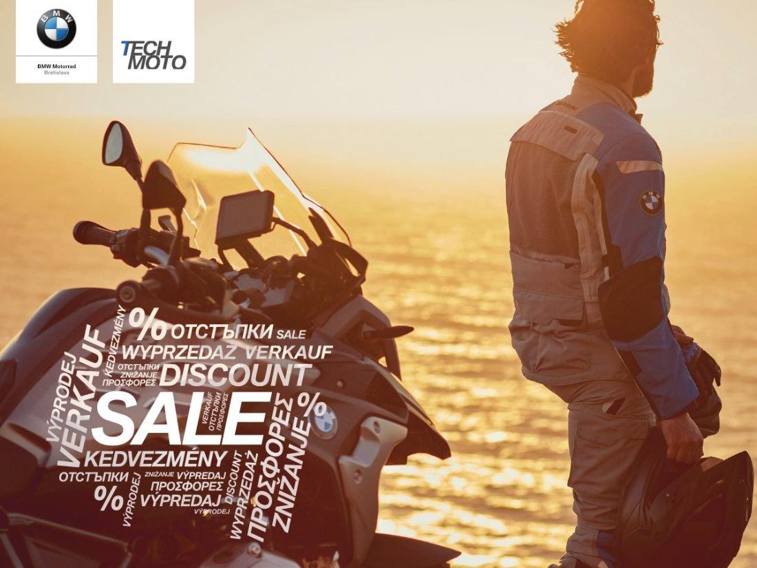 Výpredaj v Tech Moto Bratislava