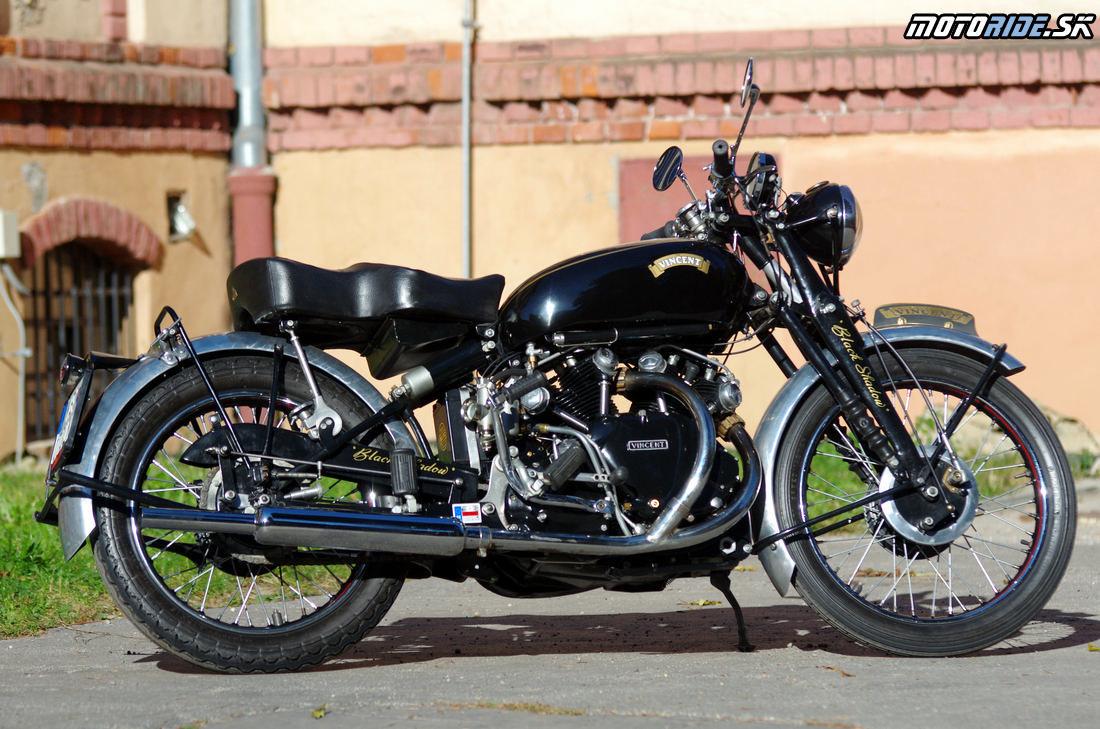 Vincent Black Shadow 1951 - legendárny stroj, ktorý predbehol svoju dobu