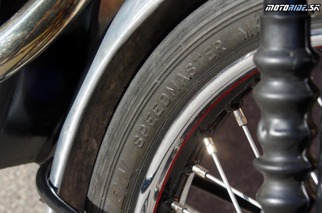 Pneu Avon Speedmaster 3x20 - Vincent Black Shadow 1951 - legendárny stroj, ktorý predbehol svoju dobu