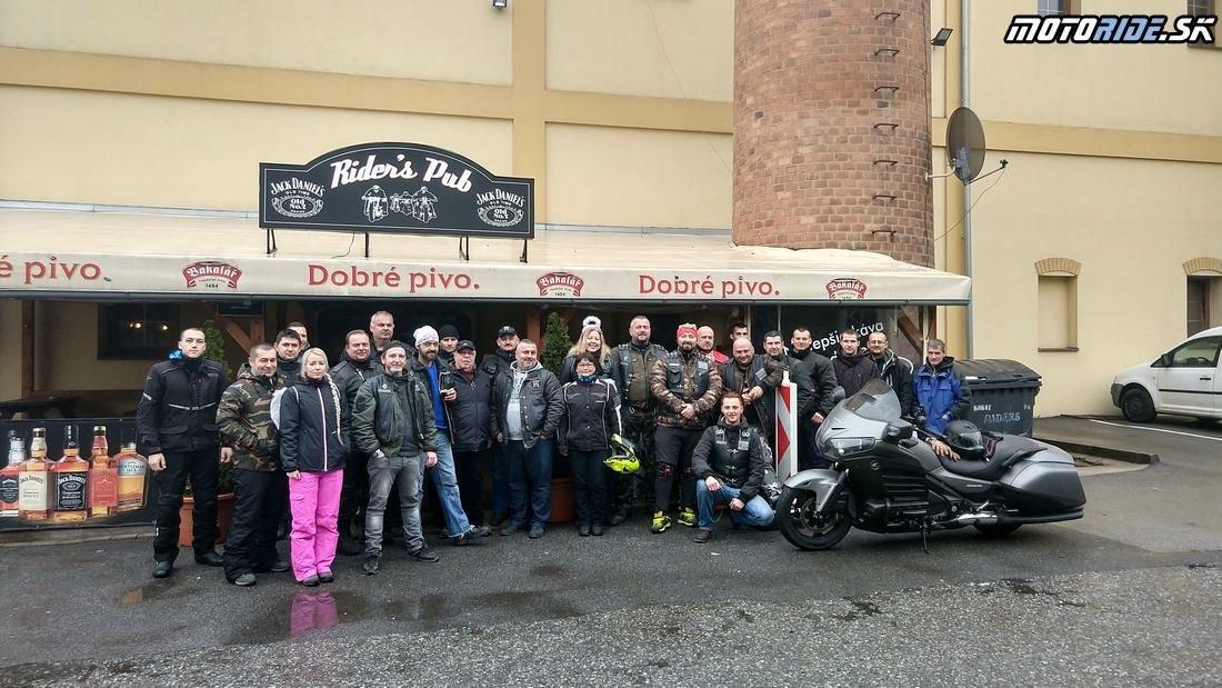 Poďakovanie patrí všetkým účastníkom - Mikuláška jazda Košice 2018