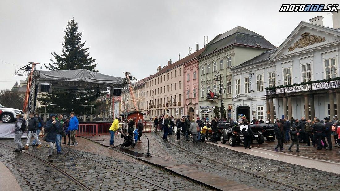 Mikuláška jazda Košice 2018