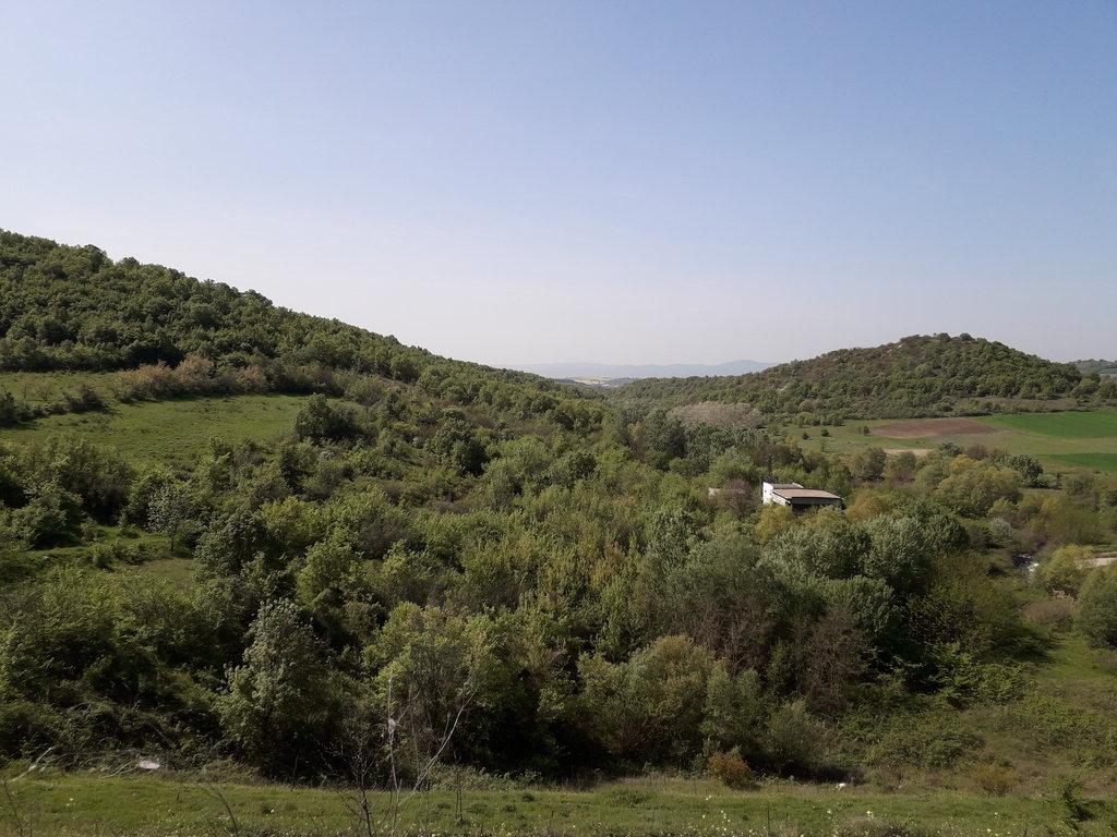 vnútrozemie Bulharska