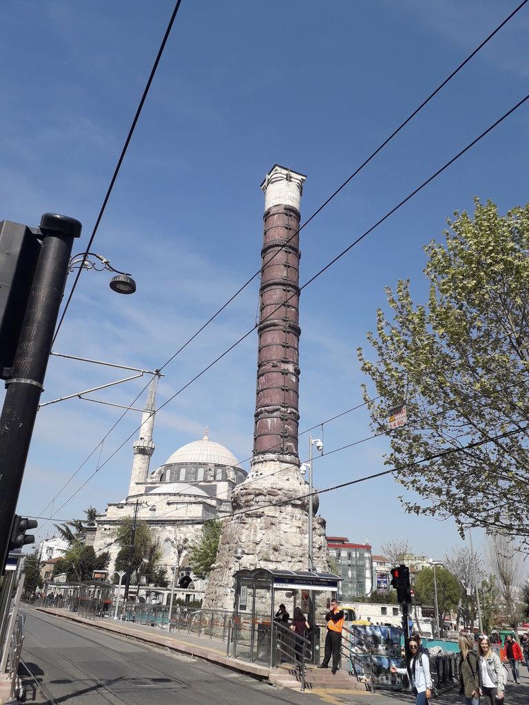 Istanbul - morový stĺp