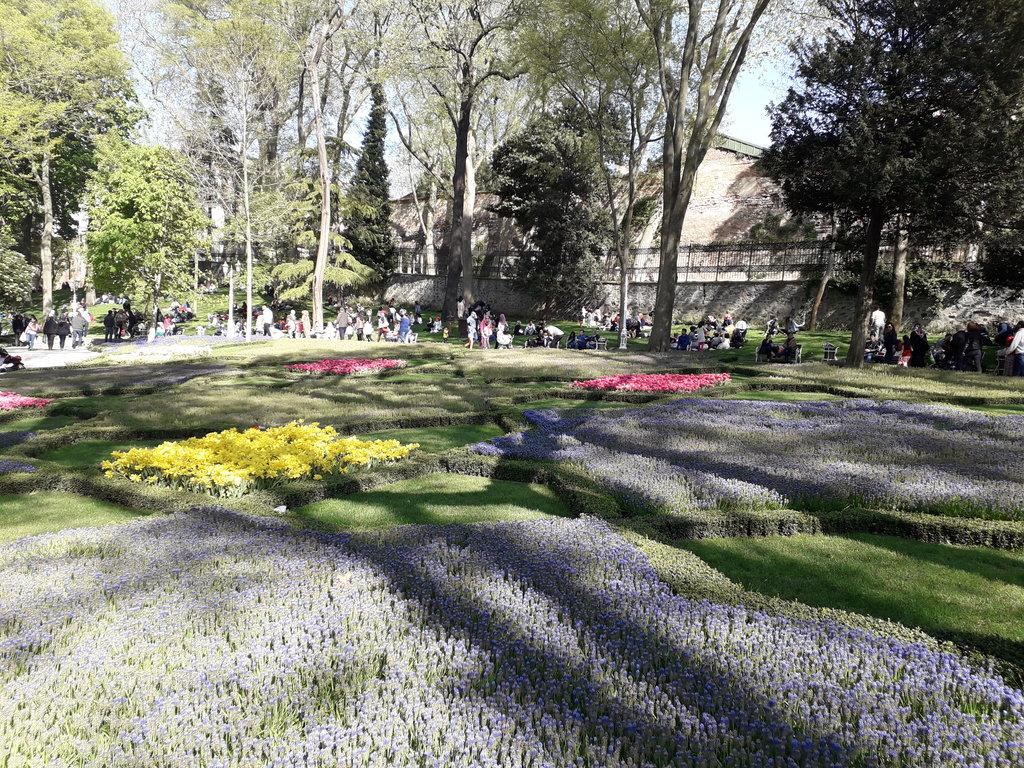 Istanbul sultánové záhrady