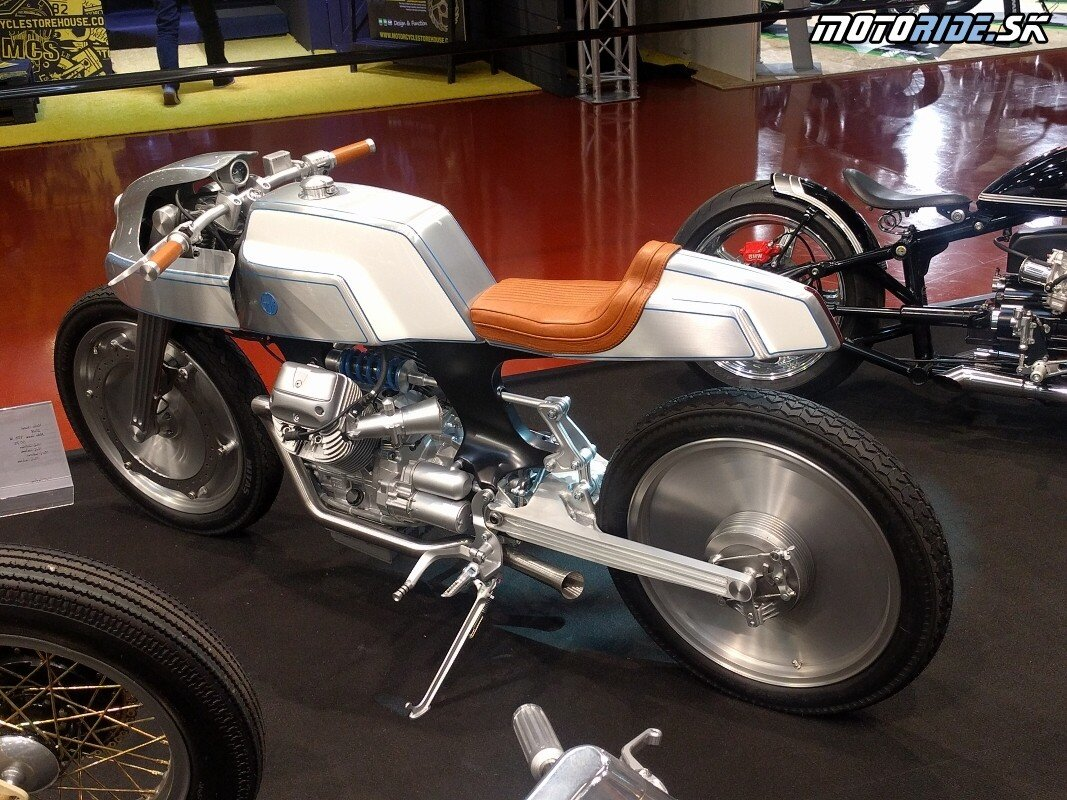 Moto Guzzi - Custombike Show Bad Salzuflen 2018
