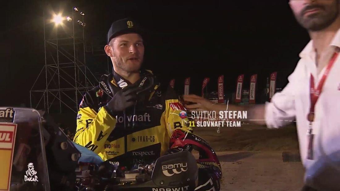 Štefan Svitko - Slávnostné pódium Dakar 2019