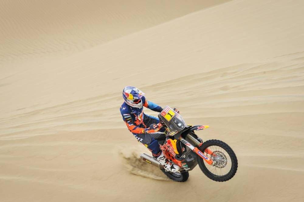 Matthias Walkner - Dakar 2019 - 1 etapa - Lima - Pisco